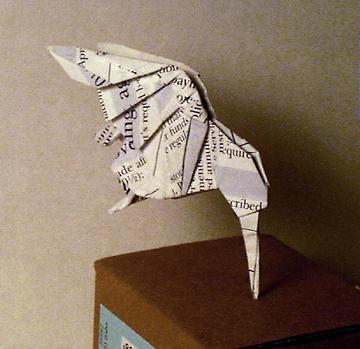 A Christmas Origami Angelfish - Origami Expressions   349x360